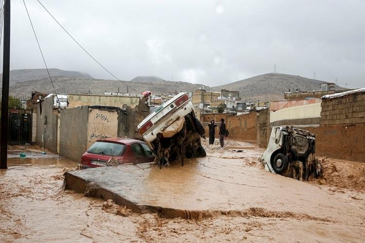 خسارت سیل به ۹۵۰۰ واحد مسکونی و تجاری فارس