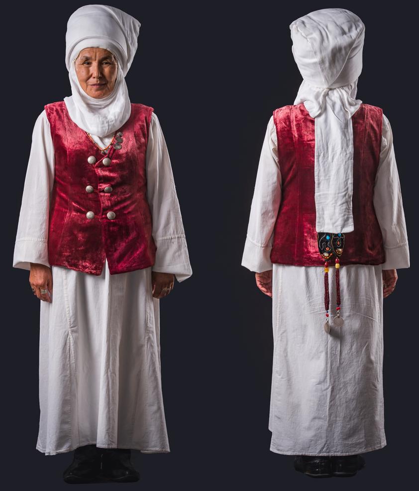 حجاب زنان در قرقیزستان از تنوع در رنگ تا پایبندی به سنتهای ماندگار + عکس