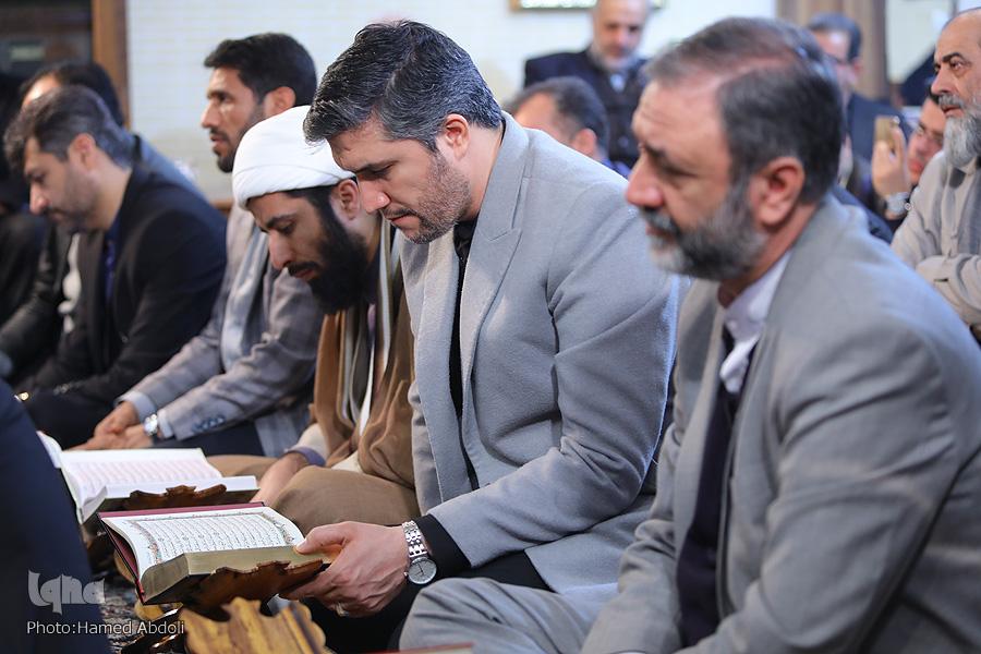 جامعه قرآنی پای رحل سردار سلیمانی