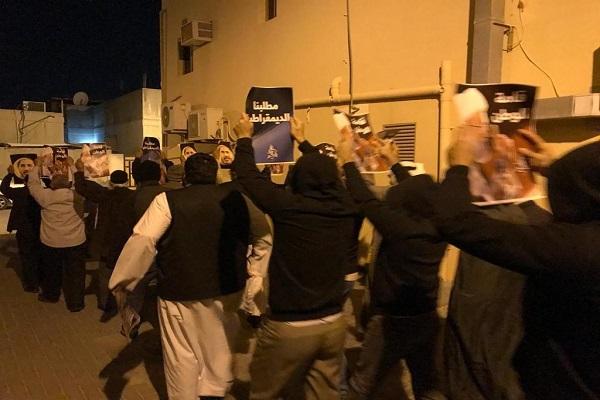 تظاهرات گسترده بحرینیها، در نهمین سالگرد قیام مردمی+ عکس