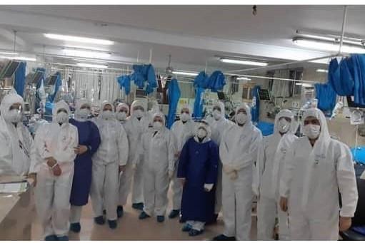 ابتلای 5 نفر از کادر درمان بیمارستان شهدای تجریش به ویروس کرونا