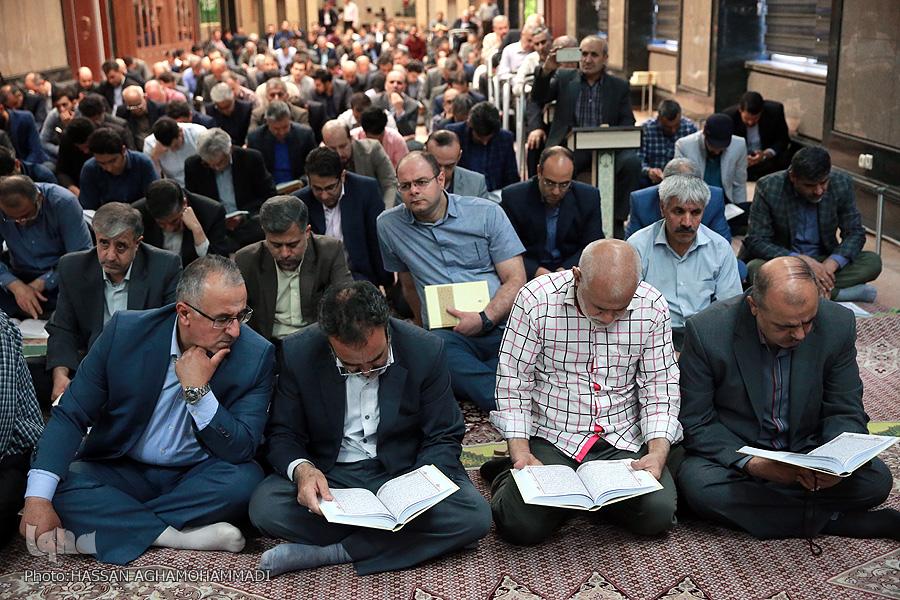 برگزاری محفل انس با قرآن در بنیاد مستضعفان + عکس