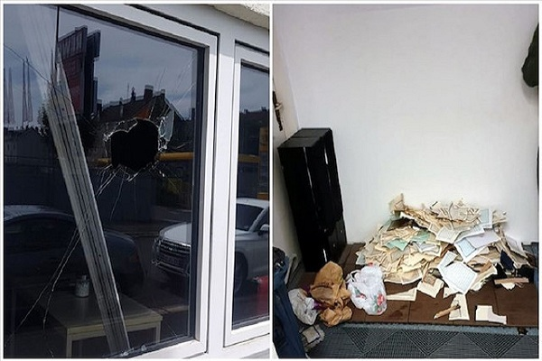 هتک حرمت قرآن در حمله به دو مسجد آلمان/ ادیت شده