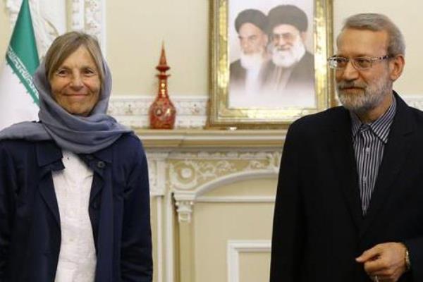 لاریجانی در دیدار با رئیس کمیسیون سیاست خارجی مجلس فرانسه: مکانیزم اینستکس روی کاغذ مانده است