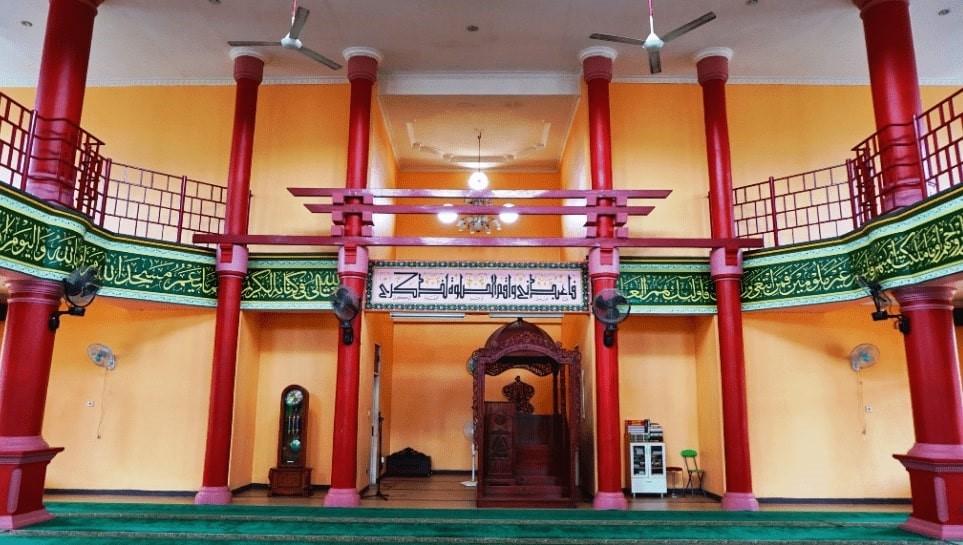 «چِنگ هو»؛ مسجدی با معماری چینی در اندونزی + عکس