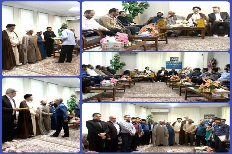 جلیل از قاریان و دست اندرکاران مراسم جزءخوانی قرآن کریم ماه مبارک رمضان در بروجرد