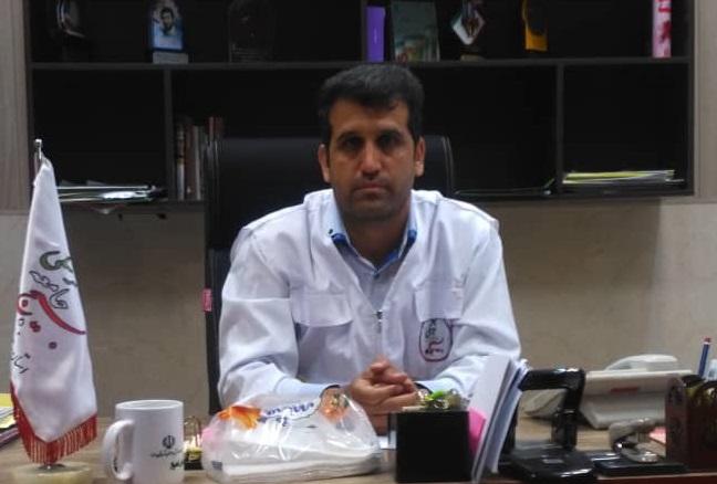 Image result for سرهنگ پاسدار الماس تیموری جانشین بسیج جامعه پزشکی خوزستان