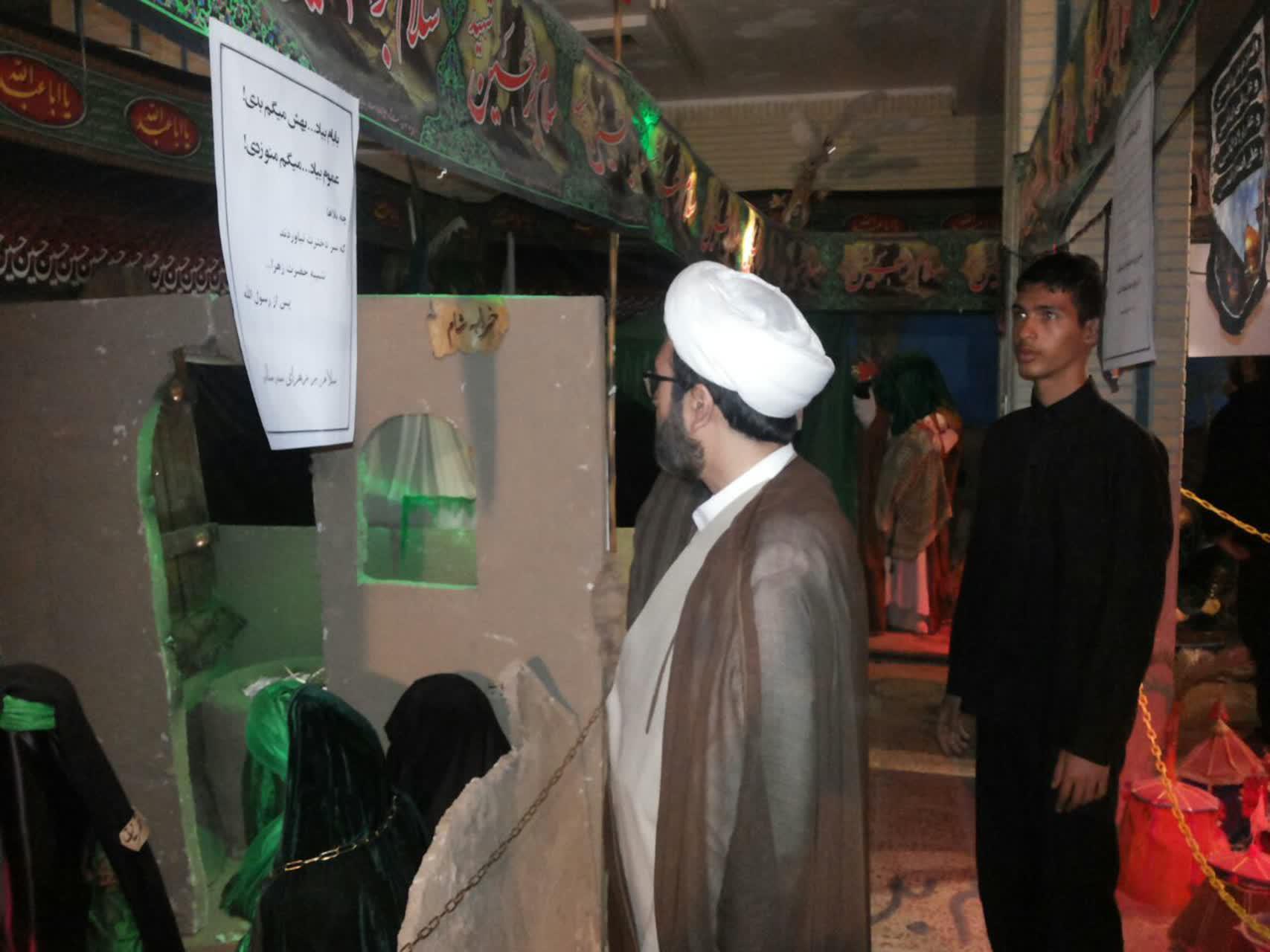 امیرمیثم سعیدی با ابزار هنر فرهنگ عاشورا و نهضت حسینی را به نسل جوان منتقل کنید عترتنا