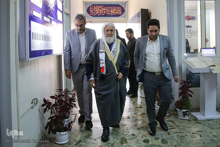 آماده//بازدید رئیس شورای اسلامی فلسطین در لبنان از ایکنا