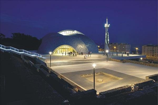 معماری خاص مسجدی در کرواسی+فیلم