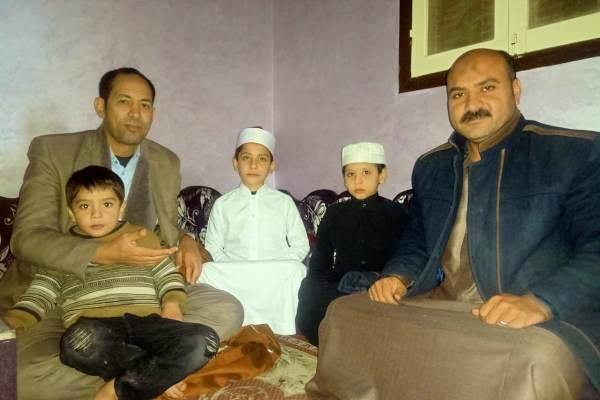 داستان زندگی 8 حافظ قرآن در یک خانواده مصری +عکس