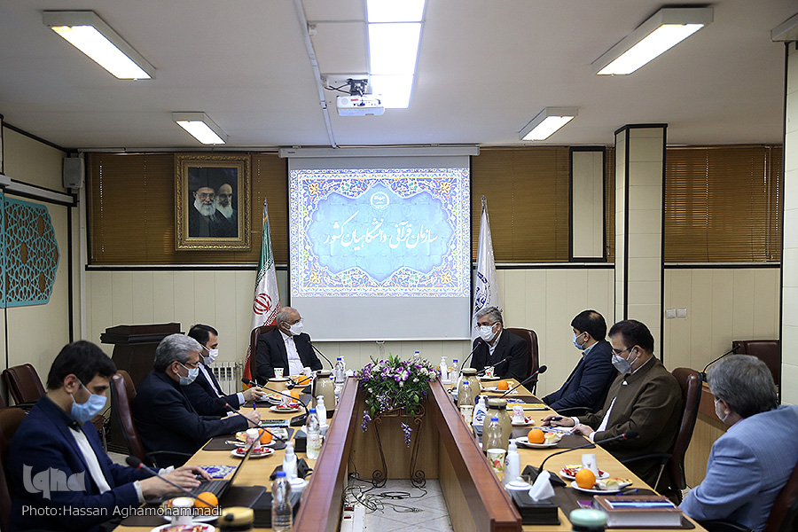 بازدید حاجی میرزایی، وزیر آموزش و پرورش از سازمان قرآنی دانشگاهیان کشور
