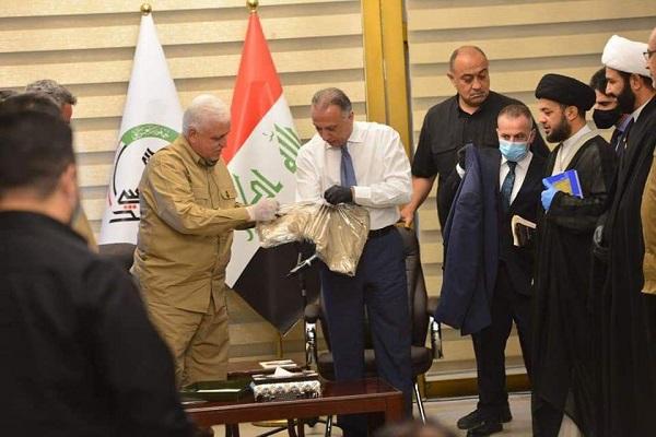 دیدار نخستوزیر عراق با رهبران حشدالشعبی