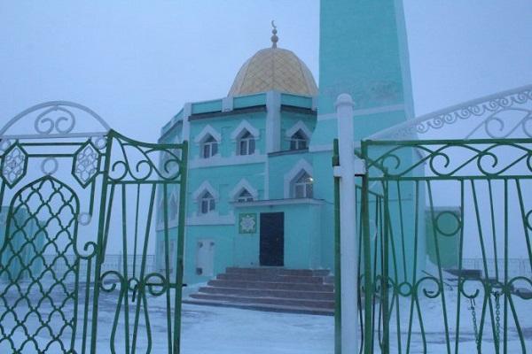 مسجدی که در کتاب رکوردهای گینس ثبت شد