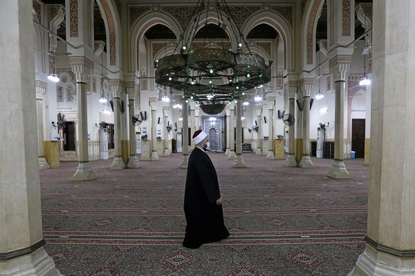 بازگشایی مساجد مصر بعد از سه ماه + عکس