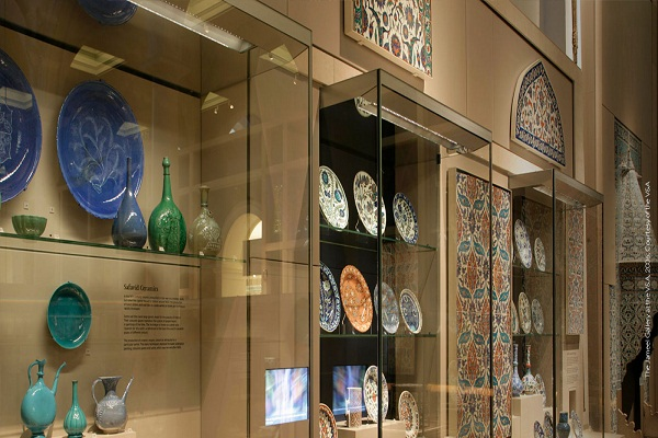 جذابیت هنر اسلامی در لندن