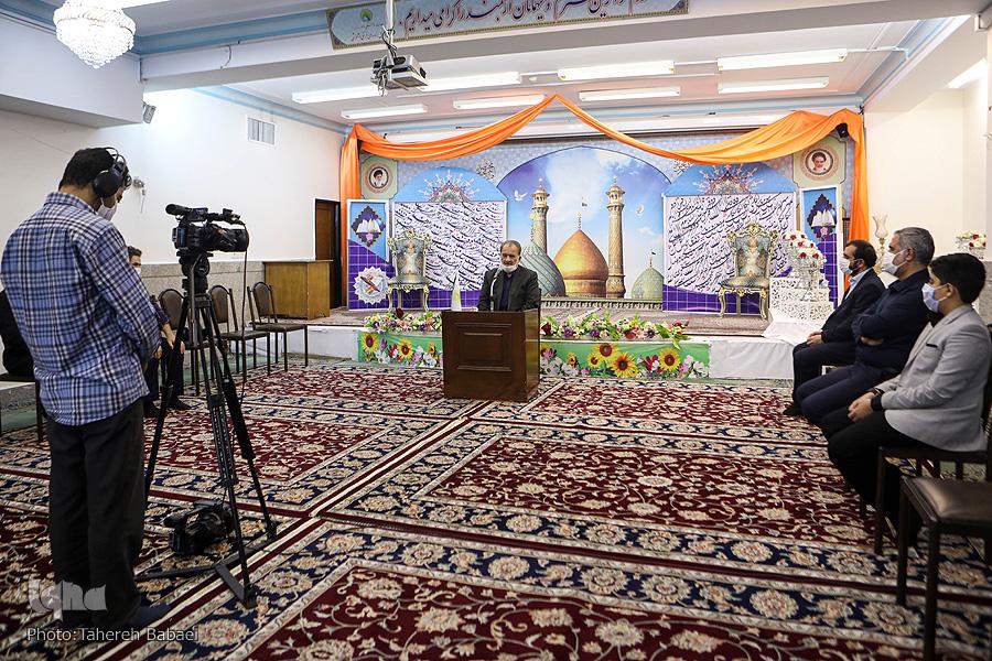 رتبهداران مرکز آموزش قرآن آستان حضرت عبدالعظیم(ع) تجلیل شدند