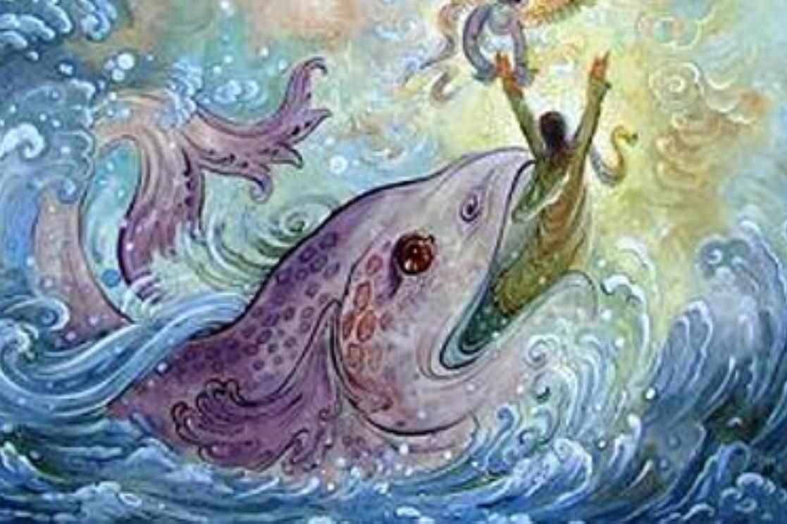 درنگی در اعجاز زنده ماندن حضرت یونس(ع) در بطن ماهی