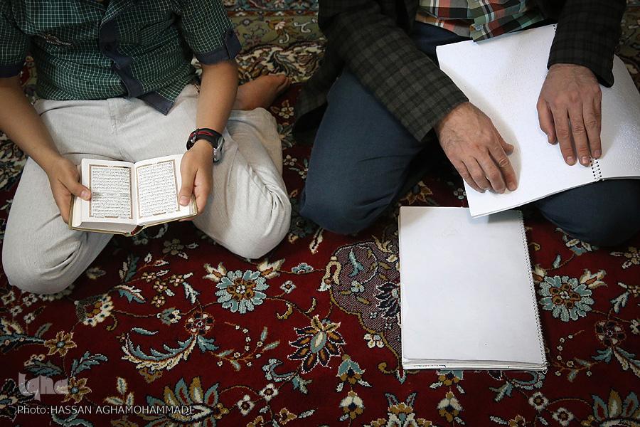 جاذبه قرآن در زندگی زوج روشندل حافظ قرآن / گلایه از کملطفیهای بهزیستی نسبت به معلولان