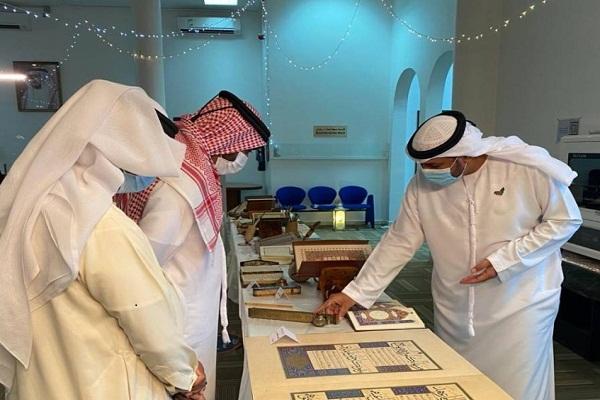 نمايش 40 نسخه خطی قرآن در نمایشگاه شارجه امارات