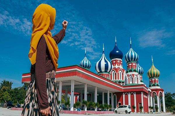 مسجد روسی در مالزی + تصاویر و فیلم