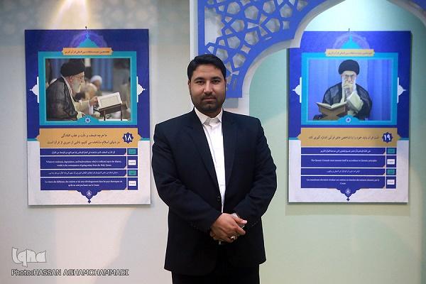 خداحفظی قاری بینالمللی از مسابقات قرآن