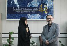 بازدید مشاور وزیر کشور در امور ایثارگران از ایکنا
