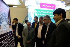 بازدید رئیس جهاددانشگاهی از نمایشگاه قرآن کریم