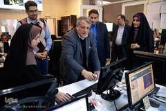 بازدید رئیس شورای شهر تهران از سازمان قرآنی دانشگاهیان کشور و ایکنا