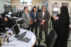 بازدید معاون فرهنگی و اجتماعی وزارت کار از ایکنا
