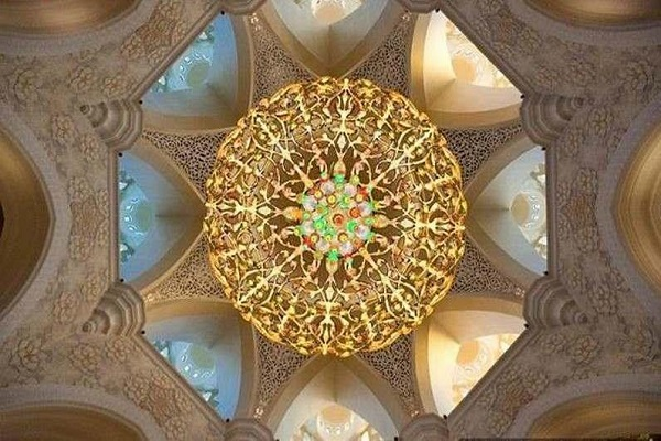 Mosquée Cheikh Zayed à Abou Dhabi
