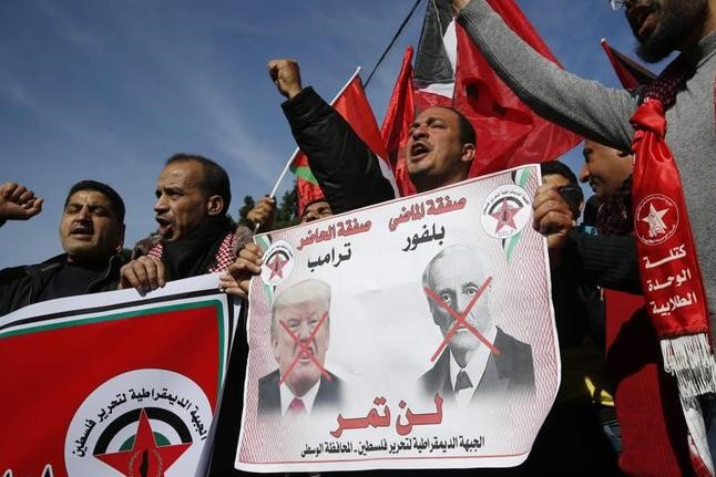 Картинки по запросу palestinien vs plan trump