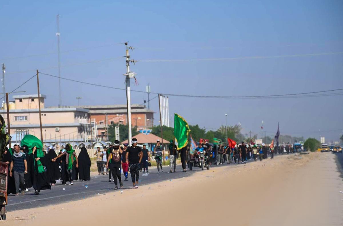 Les visiteurs affluent à Najaf