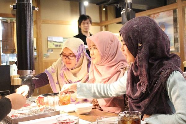 Dakunan Cin Abincin Halal A Japan