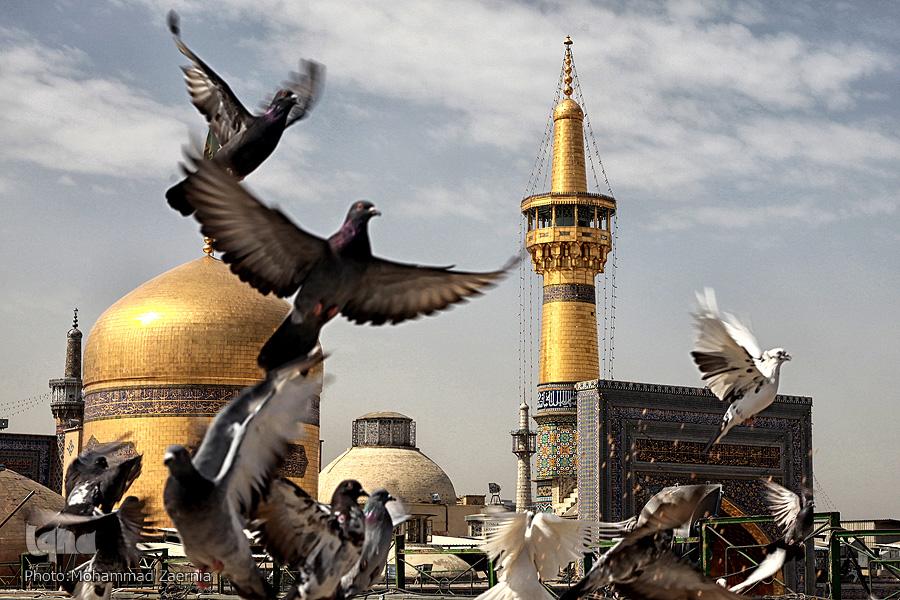 Video: İmam Rıza'da iftar zamanı