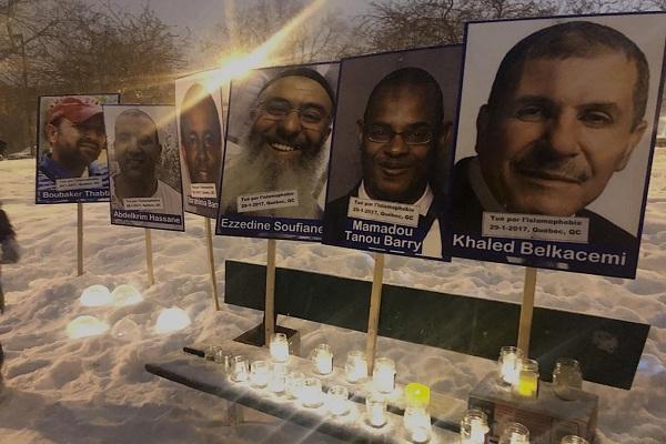 Vigilia por las víctimas del ataque a la mezquita de la ciudad de Quebec