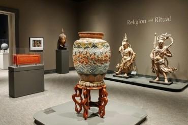 Художественные произведения Азии в Оклендском музее
