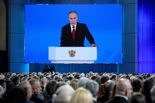 Путин поблагодарил духовенство за вклад в борьбу с пандемией