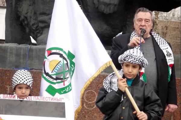 Известный русский писатель выразил восхищение мужеством палестинцев