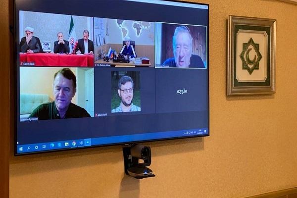 Заместитель председателя ДУМ РФ принял участие в онлай-встрече, посвященной Дню аль-Кудс