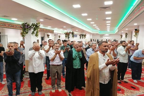 Мовлюд имама Хади (мир ему) в хусейнии имени ее светлости Фатимы Захры (мир ей!)